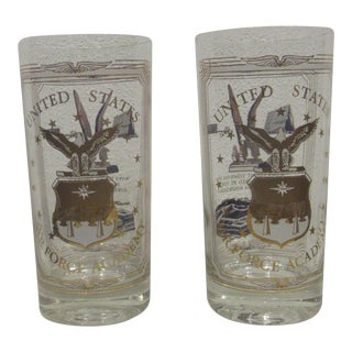 Vintage United States Air Force Academy Hiball Glasses - A Pair