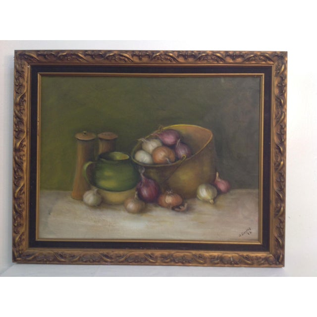 Still Life Oil Painting on Canvas - Image 2 of 7