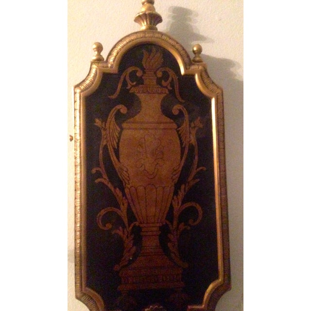 Neoclassical Two-Light Sconces - Pair - Image 4 of 4