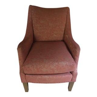 Lee Industries Red Armchair