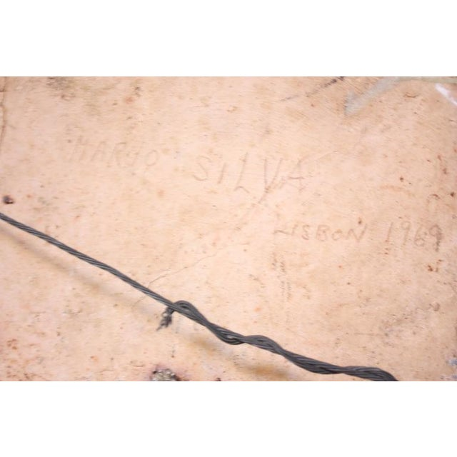Monumental Mounted Polychrome Stoneware Panels by Mario Ferreira Da Silva - Image 6 of 10