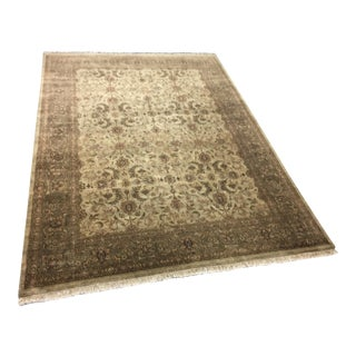 """Pakistan Hand Knotted Wool Rug - 12'6"""" X 9'1"""""""