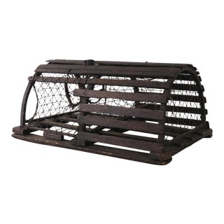 Vintage Lobster Trap