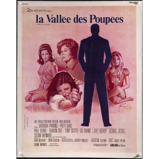 """Valley of the Dolls"" French Movie Poster"