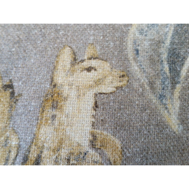 Zoffany Mythical Animal Pillows - A Pair - Image 5 of 7