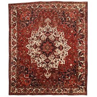 "Vintage Persian Bakhtiari Rug - 12'6"" x 14'10"""