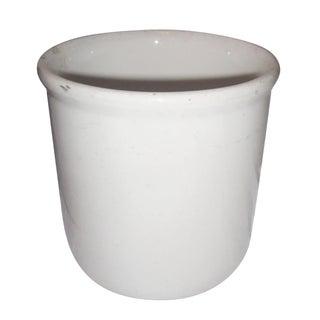 White Earthenware Vessel