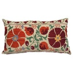 Antique Embroidered Suzani Body Pillow