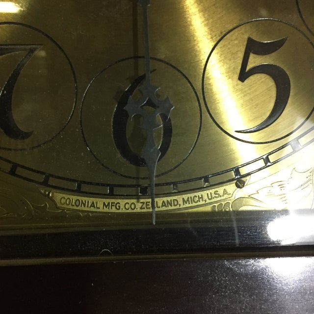 Colonial MFG Grandfather Clock - Image 3 of 6