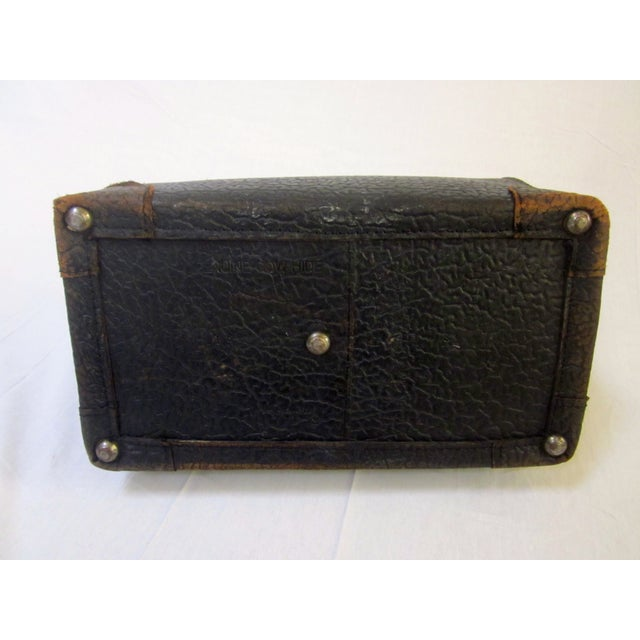 Image of Antique Canadian Carson Leather Doctor's Bag