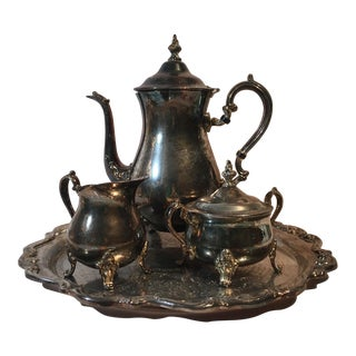 Gorham Silver Plated Tea Set - Set of 4