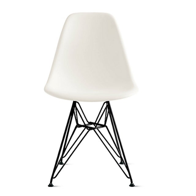 White Eames Chair - 6 Available - Image 1 of 3