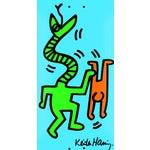 Image of Keith Haring Skate Deck