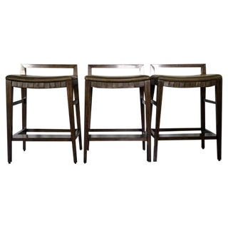 Henredon Acquisitions Barstools - Set of 3