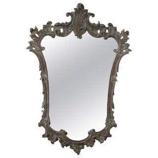 20th Century French Rococo Style Mirror