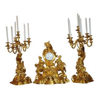 19th Century Three-Piece Garniture Set