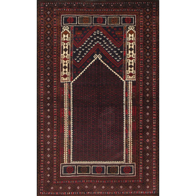"""Pasargad Balouch Collection Rug - 2'9"""" X 4'7"""" - Image 1 of 2"""