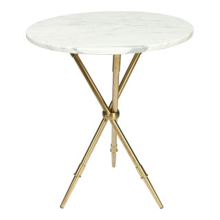 Blink Home Marble Top End Table