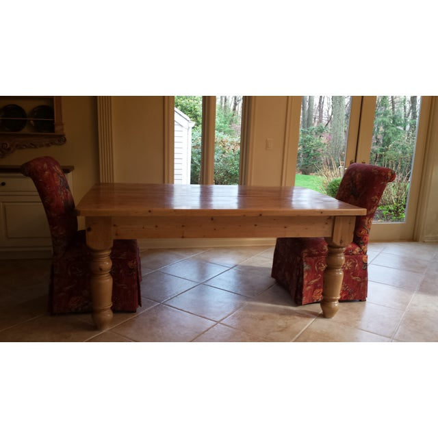 Custom Made Farmhouse Table - Image 3 of 5