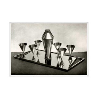 Silver Cocktail Service - Unframed Large
