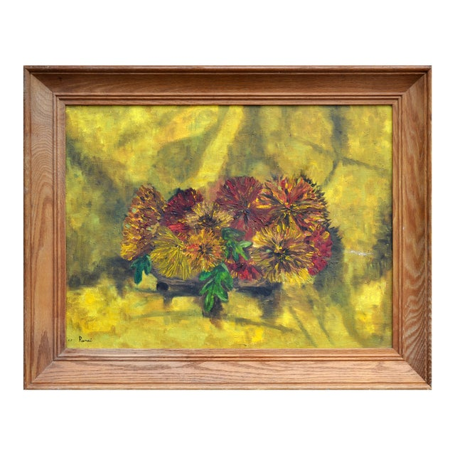 Image of Still Life Flowers Painting by Renee