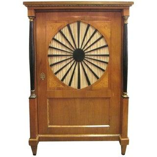Antique Biedermier Style Cabinet