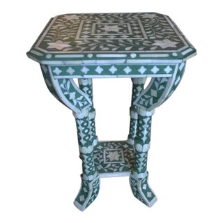 Handpainted Moroccan Side Table
