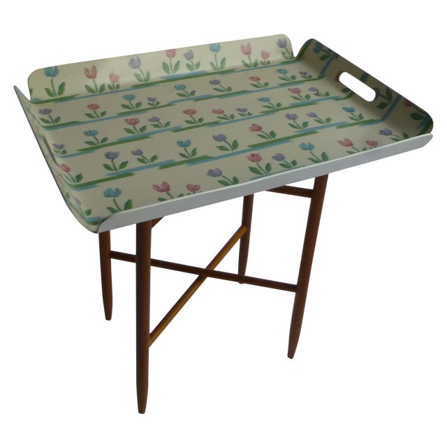 Mid-Century Swedish Tray Table - Image 1 of 5