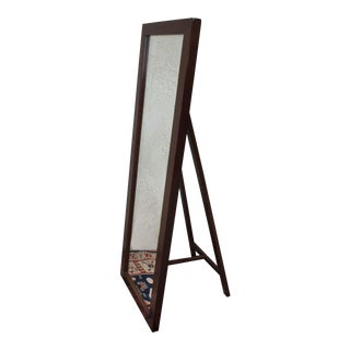 Pottery Barn Stinson Floor Mirror with Easel Back