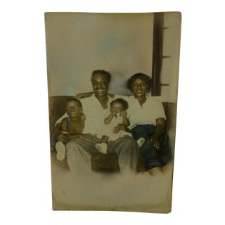 "Vintage 1930s ""Black Family"" Photograph"