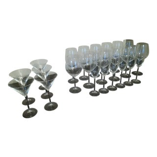 Lenox Tuscany Classics Crystal Stemware - Set of 23