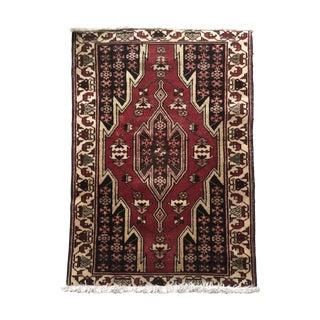 Vintage Persian Rug - 2′9″ × 4′1″