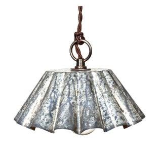 Brioche Tin Pendant Light - Barn Aged Patina