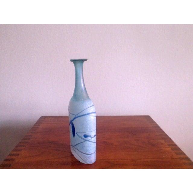 Bertil Vallien Galaxy Kosta Boda Bottle Vase - Image 4 of 6