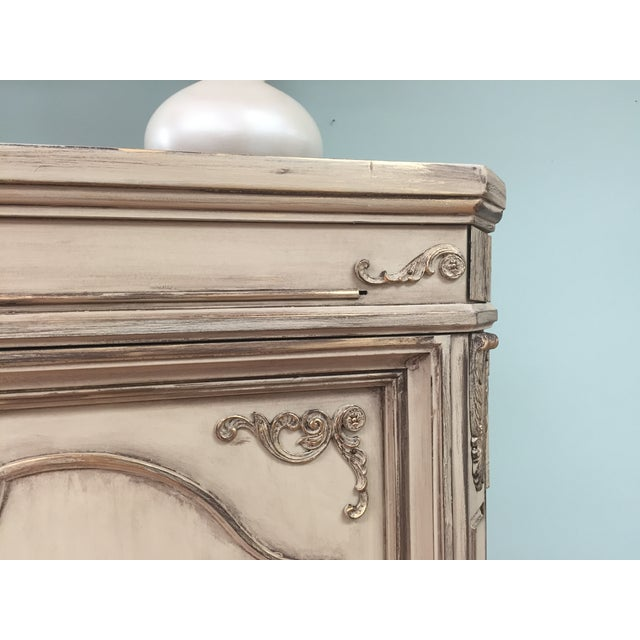 Vintage French Provincial Armoire - Image 8 of 11