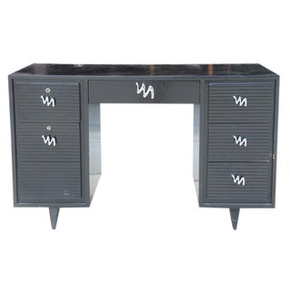 Midcentury Modern Brush Stroke Desk