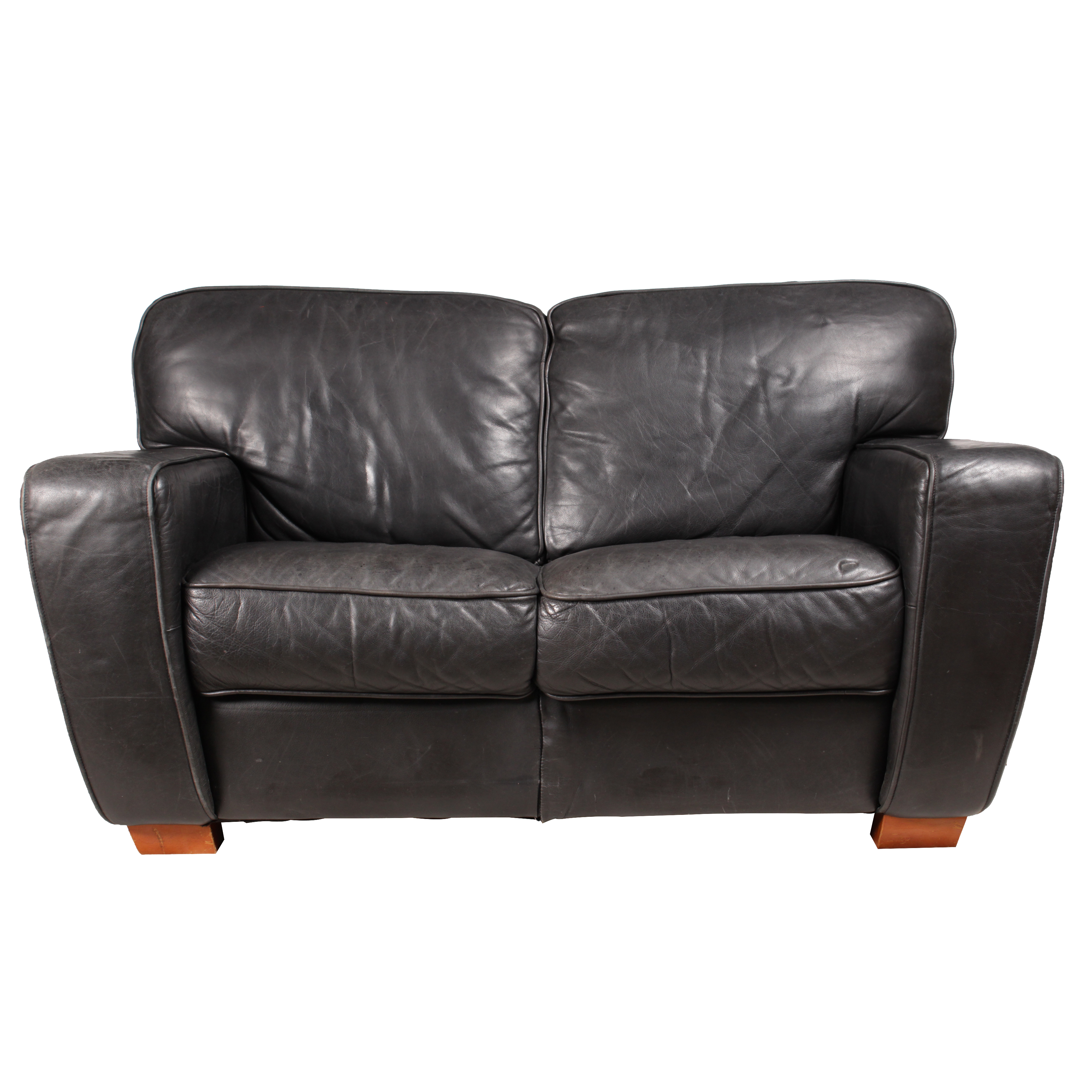 italian leather sofa by interline