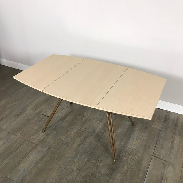 Vintage Formica Drop Leaf Dining Table Chairish