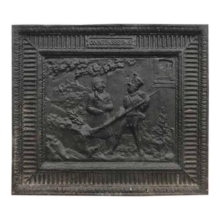 """On Ne Passe Pass"" Iron Fireback, Belgium circa 1800"