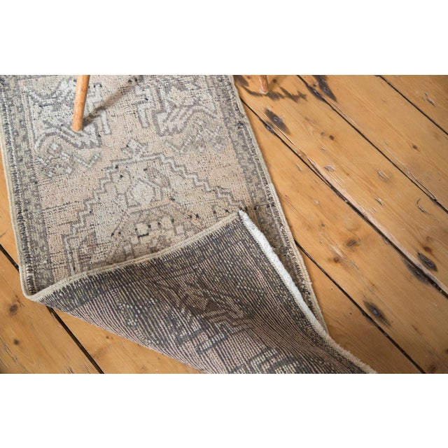 "Distressed Oushak Rug Mat - 1'8"" X 3'2"" - Image 7 of 7"