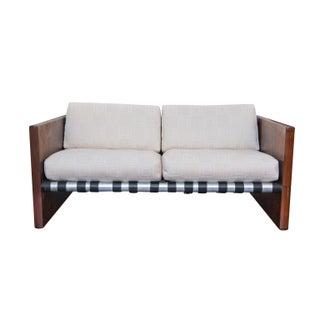 Mid-Century Danish Modern Rosewood Sling Sofa