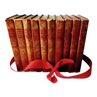Robert Browning Victorian Volumes, 1898 - Set of 10