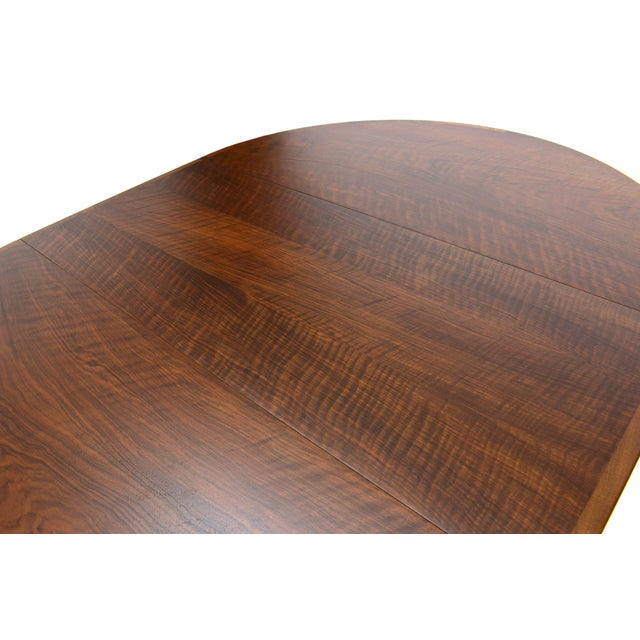 Rosengren Hansen Round Walnut Dining Table - Image 6 of 9