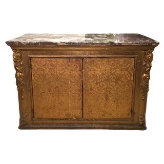 Gilt Venetian Vestments Cabinet