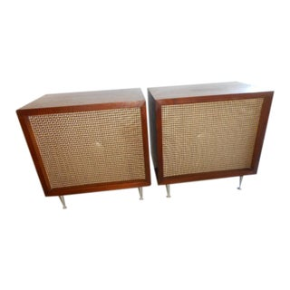 Mid-Century JbL Speaker Table Cabinet- a Pair