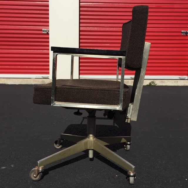 Mid-Century Desk Chair by Good Form Aluminum - Image 4 of 7