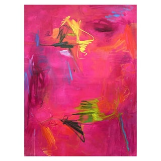"""Magic Potion"" Large Abstract Painting by Trixie Pitts"