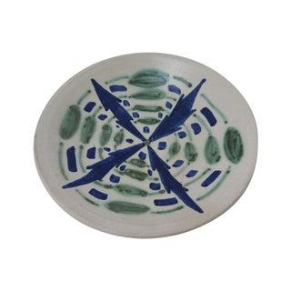 Blue & Green Studio Pottery Catchall