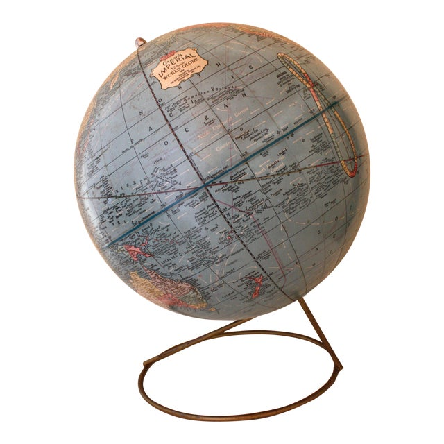 1960sImperial Mid-Century Globe - Image 1 of 5