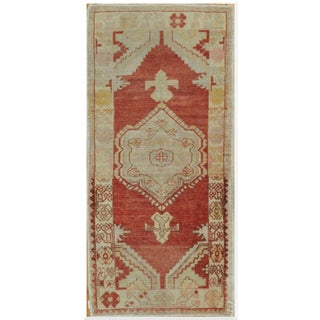 Vintage Turkish Small Runner - 2′8″ × 5′10″